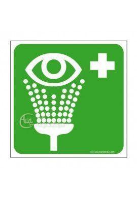 Equipement de rinçage des yeux E011