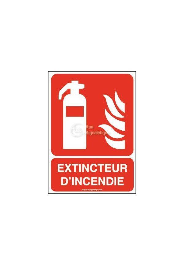 Extincteur d'incendie F001-AI