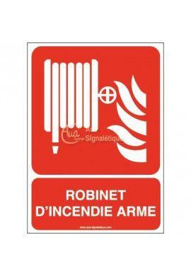 Robinet d'incendie armé F002-AI