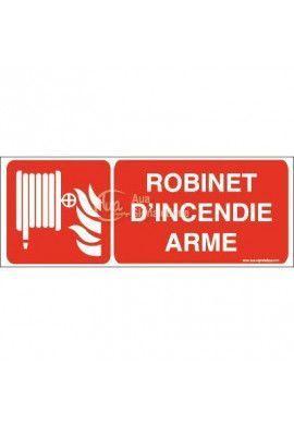 Robinet d'incendie armé F002-B