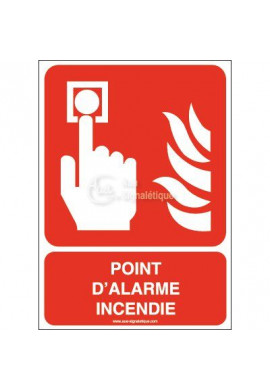 Point d'alarme incendie F005-AI