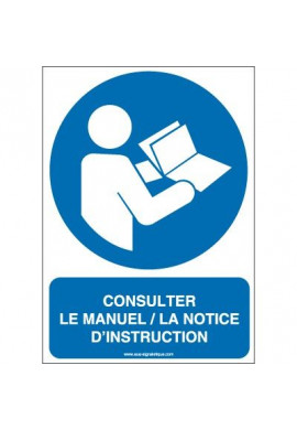 Consulter le manuel/la notice d'instructions M002-AI