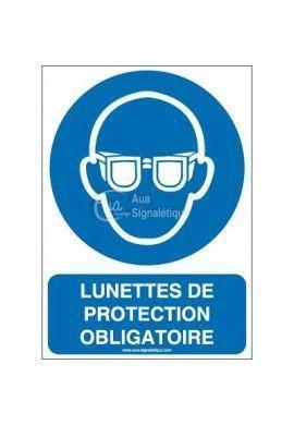 Lunettes de protection obligatoires M004-AI