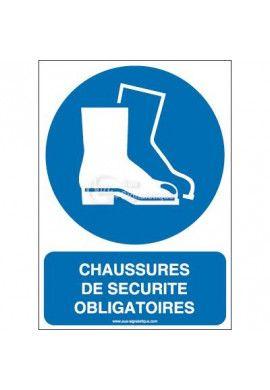 Chaussures de sécurité obligatoires M008-AI Aluminium 3mm 150x210 mm