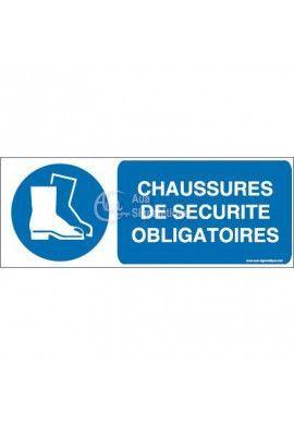 Chaussures de sécurité obligatoires M008-B Aluminium 3mm 160x60 mm