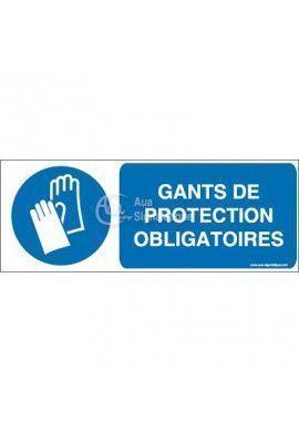 Gants de protection obligatoires M009-B Aluminium 3mm 160x60 mm