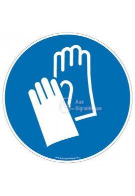 Gants de protection obligatoires M009