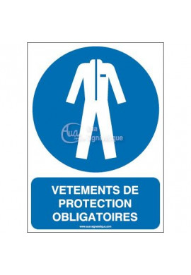 Vêtements de protection obligatoires M010-AI Aluminium 3mm 150x210 mm