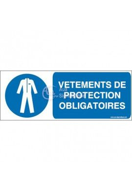 Vêtements de protection obligatoires M010-B Aluminium 3mm 160x60 mm