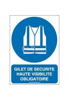 Gilet de sécurité haute visibilité obligatoire M015-AI Aluminium 3mm 150x210 mm