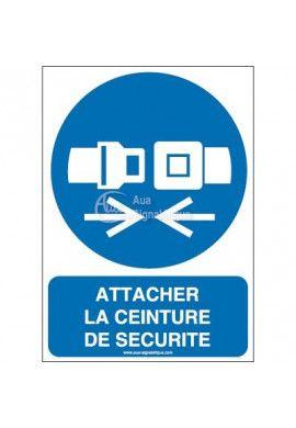Attacher la ceinture de sécurité M020-AI Aluminium 3mm 150x210 mm