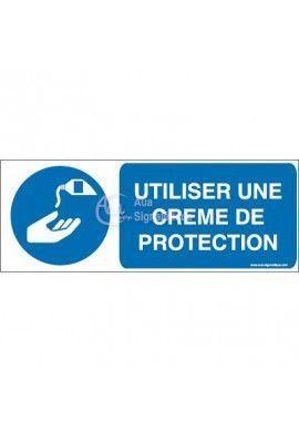 Utiliser une crème de protection M022-B Aluminium 3mm 160x60 mm