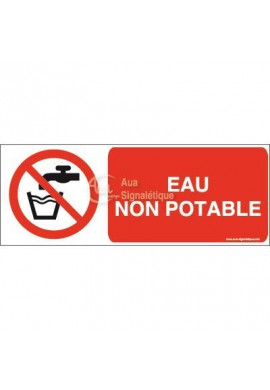 Eau non potable P005-B