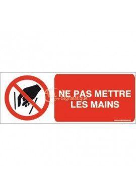 Ne pas mettre les mains P015-B
