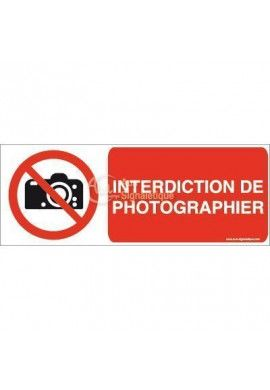 Interdiction de photographier P029-B