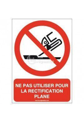 Ne pas utiliser pour la rectification plane P032-AI Aluminium 3mm 150x210 mm
