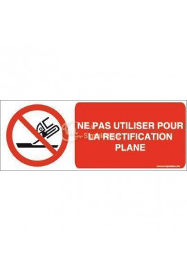 Ne pas utiliser pour la rectification plane P032-B