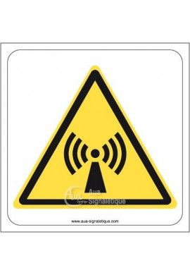 Danger, Radiations non ionisantes W005
