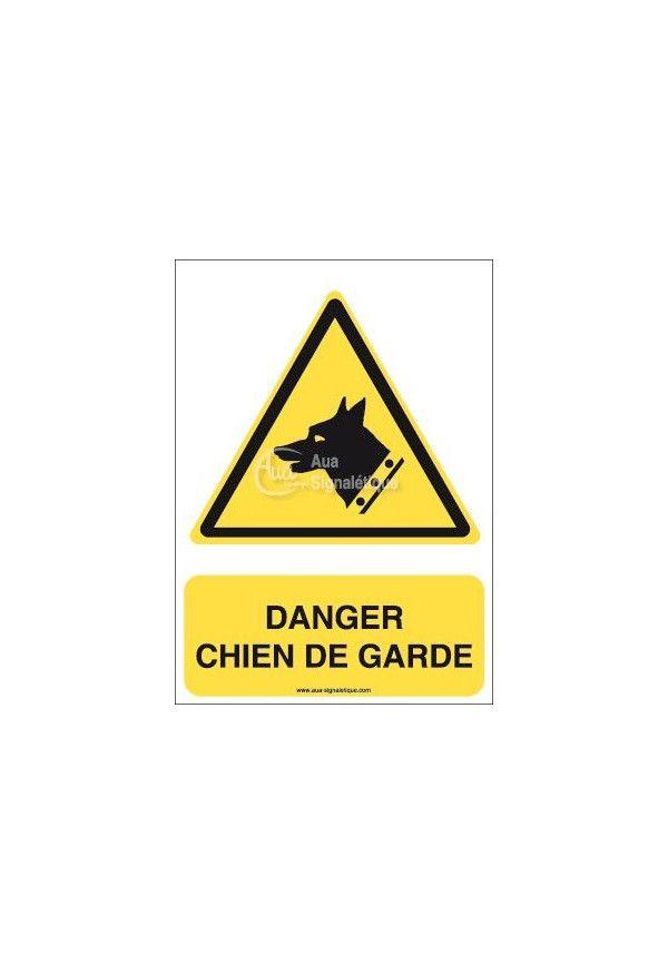 Danger, Chien de garde W013-AI