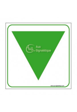 Panneau baie EAS Vinyl adhésif 350x350 mm