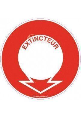 Panneau Emplacement Extincteur - Texte