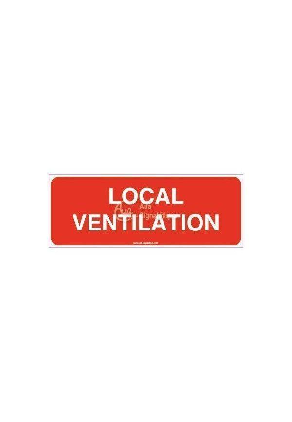 Panneau local ventilation