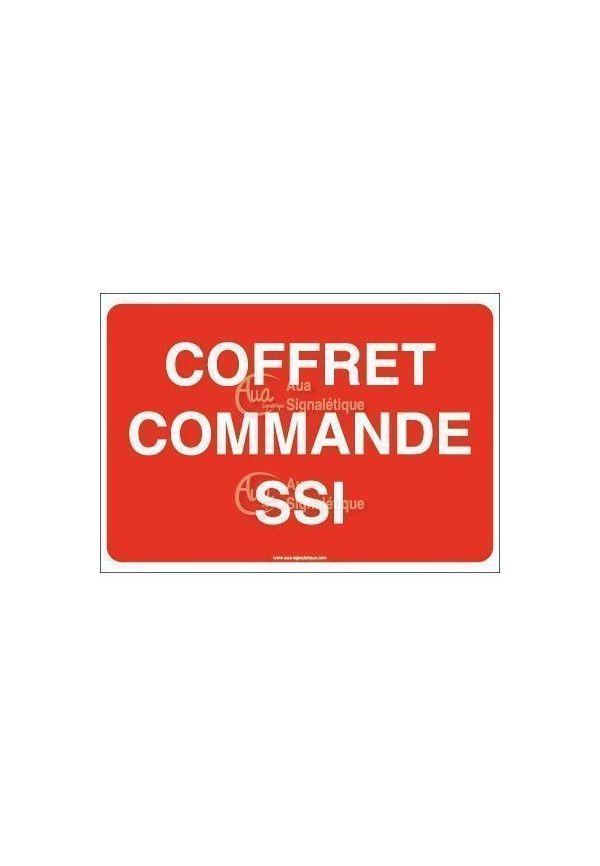 Panneau Coffret commande SSI