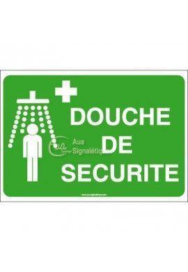 Panneau Douche de sécurité avec picto - AP