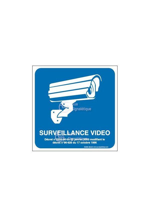 Panneau surveillance vidéo - 01