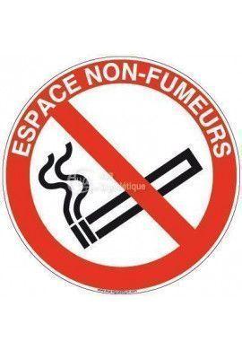 Panneau Espace non fumeur-R