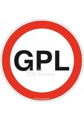 Panneau interdit GPL