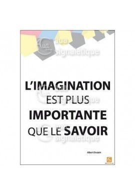 Affichage Rigide Motivation - L'imagination