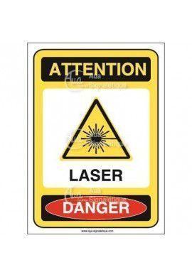 Panneau laser Vinyl adhésif 75x105 mm