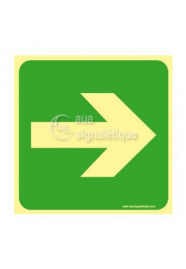 Panneau Flèche Directionnelle Droite-PH-CA