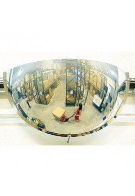 Miroirs Hémisphériques Espace Publics 3 Directions 1/4 Quart de Sphère POLYMIR