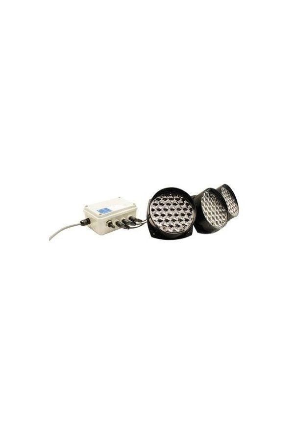 Kit Lumineux, alimentation batterie - Ø130/30 leds