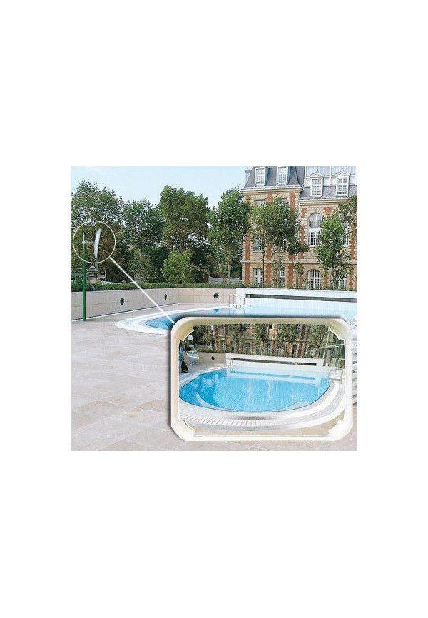 Miroirs de s curit industrie et logistique r troviseur for Securite piscine miroir