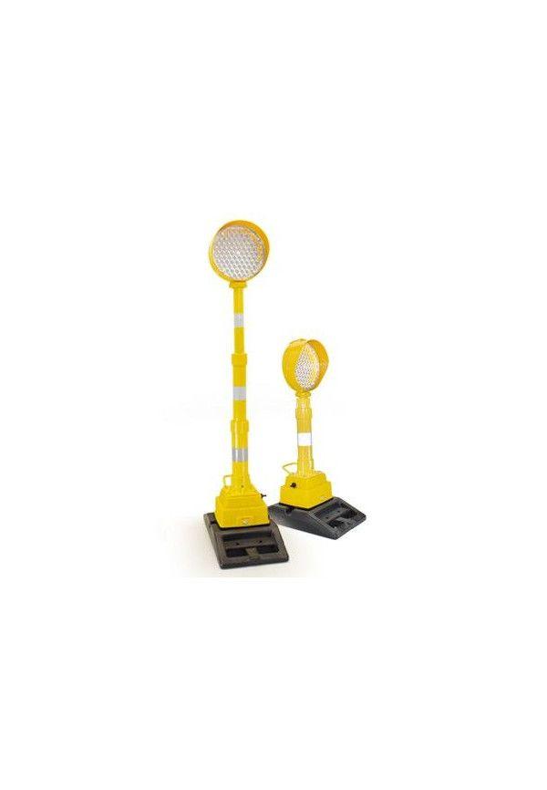 Lampe avec optique Ø210 - Télescopique