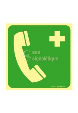 Téléphone D'urgence E004-PH-CA