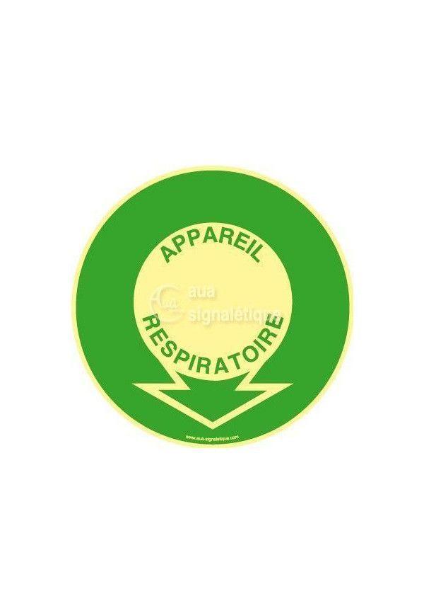 Panneau Localisation Appareil Respiratoire PH-R