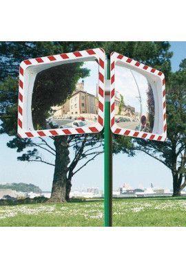 Support pour 2 Miroirs de sécurité.