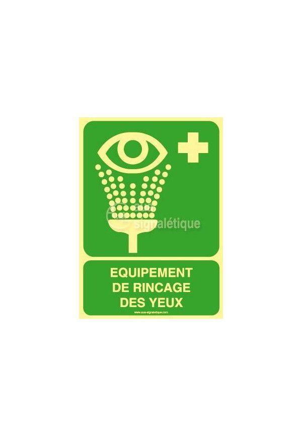 Equipement de rinçage des yeux E011PH-AI