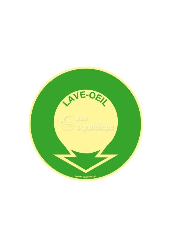 Panneau Localisation Lave-Oeil PH-R