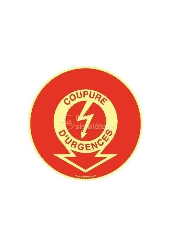 Panneau Coupure D'urgence PH-R