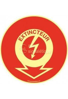 Panneau Emplacement Extincteur - Eclair PH-R