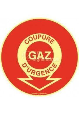 Panneau Coupure Gaz D'urgence PH-R