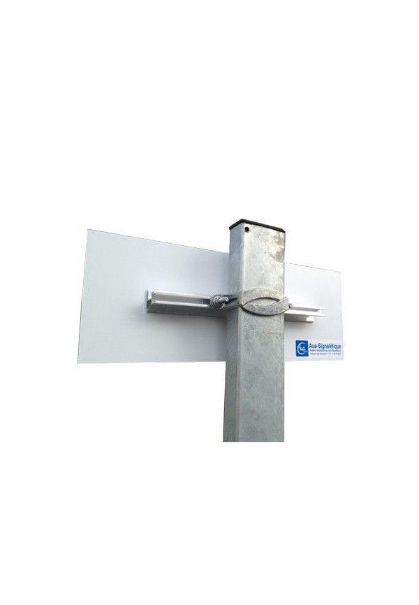 Rail de fixation pour panneaux plats