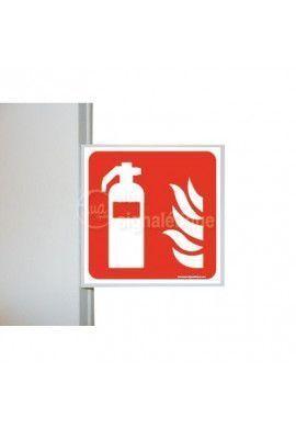 Drapeau Extincteur d'incendie - F001