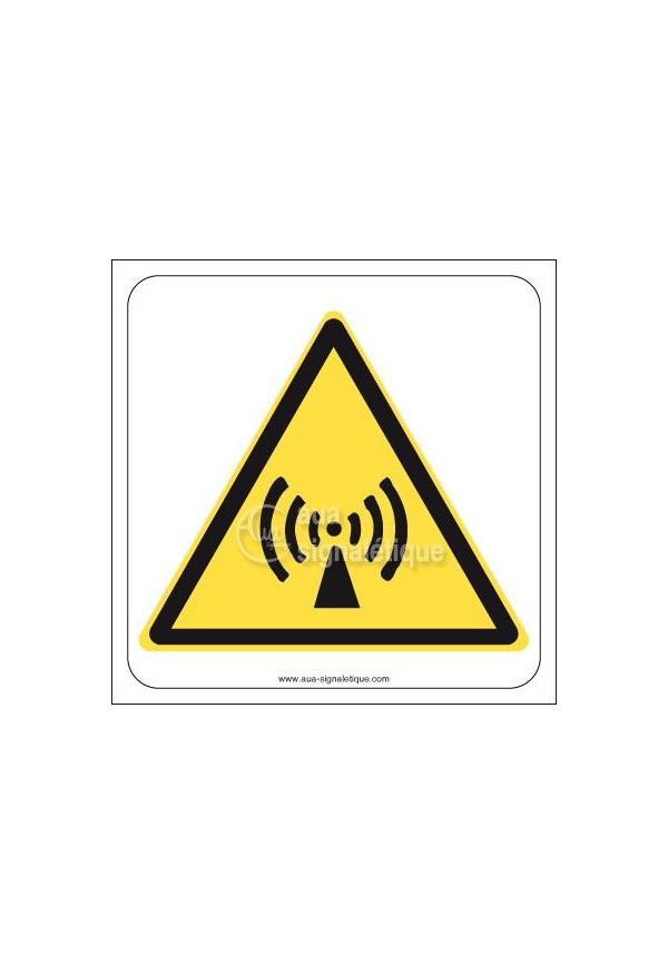 Panneau Radiation non ionisante