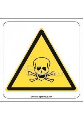 Panneau Danger toxicité